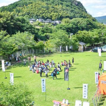 フカフカの芝生で長〜い熱戦!|兼山瀞の戦い